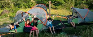 Happy campers! Camping Taiwan -  Real Adventure